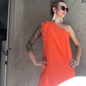 NWT Victoria Beckham 70s retro style dress
